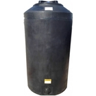 165 Gallon Dark Green HDPE Vertical Water Storage Tank