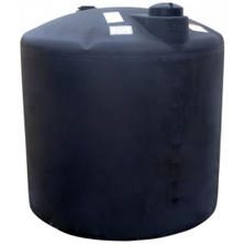 220 Gallon Black HDPE Vertical Water Storage Tank