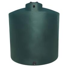6,500 Gallon Dark Green HDPE Vertical Water Storage Tank (California Version)