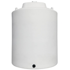 15,500 Gallon White HDPE Vertical Storage Tank