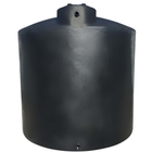 11,000 Gallon Black HDPE Vertical Water Storage Tank