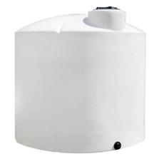 13,000 Gallon White HDPE Vertical Storage Tank