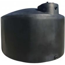 "72"" x 66"" 1,000 Gallon Dark Green HDPE Vertical Water Storage Tank (California Version)"