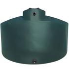 6,600 Gallon Dark Green HDPE Vertical Water Storage Tank (California Version)