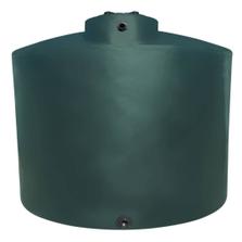 7,750 Gallon Dark Green HDPE Vertical Water Storage Tank (California Version)