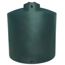 2,000 Gallon Dark Green HDPE Vertical Water Storage Tank