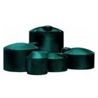 4,995 Gallon Dark Green HDPE Vertical Water Storage Tank