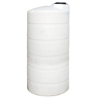 1,250 Gallon White HDPE Vertical Storage Tank