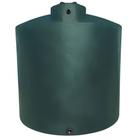 2,100 Gallon Dark Green HDPE Vertical Water Storage Tank (California Version)
