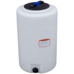 160 Gallon White HDPE Vertical Storage Tank