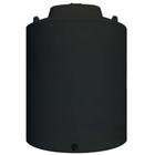 12,000 Gallon Black HDPE Vertical Water Storage Tank