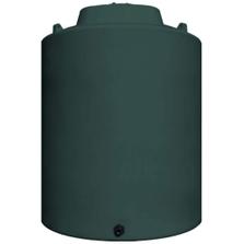 12,000 Gallon Dark Green HDPE Vertical Water Storage Tank
