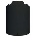 15,500 Gallon Black HDPE Vertical Water Storage Tank
