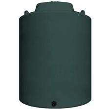 15,500 Gallon Dark Green HDPE Vertical Water Storage Tank