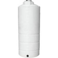 1,050 Gallon White HDPE Vertical Storage Tank