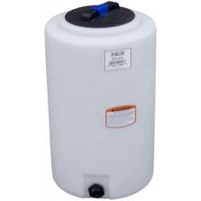 20 Gallon White HDPE Vertical Storage Tank