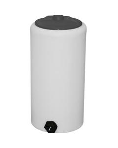 40 Gallon White HDPE Vertical Storage Tank
