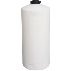 45 Gallon White HDPE Vertical Storage Tank