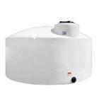 1,295 Gallon White HDPE Vertical Storage Tank