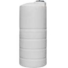 2,000 Gallon White HDPE Vertical Storage Tank