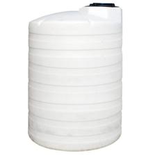 10,500 Gallon White HDPE Vertical Storage Tank