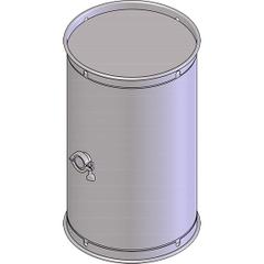 30 Gallon Stainless Steel Wine Barrel w/2