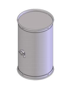 "30 Gallon Stainless Steel Wine Barrel w/2"" Tri-Clover"