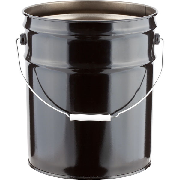 Open Head Unlined UN Rated Steel Pails