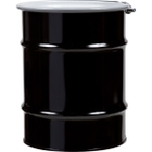 10 Gallon Steel Drum, UN Rated, Cover w/Bolt Ring Closure