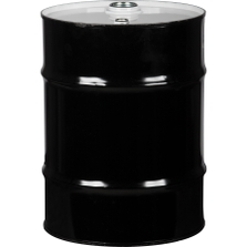 """10 Gallon Tight Head Steel Drum, UN Rated, 2"""" & 3/4"""" Fittings, Unlined"""