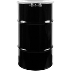 16 Gallon Steel Drum, UN Rated, Cover w/Bolt Ring Closure