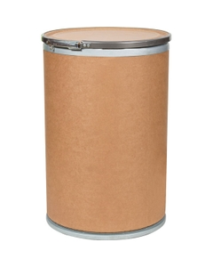 19 Gallon Fiber Drum with Cover and Lever Lock Ring