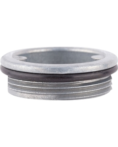 "1-1/2"" Tri-Sure® Zinc Steel Drum Plug, BUNA Gasket"