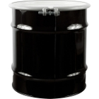 20 Gallon Steel Drum, UN Rated, Cover w/Bolt Ring Closure