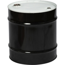 """20 Gallon Tight Head Steel Drum, UN Rated, 2"""" &  3/4"""" Fittings, Unlined"""