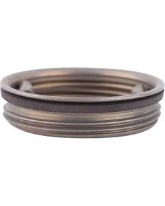 """2"""" Tri-Sure® Unplated Steel Plug, BUNA Gasket"""
