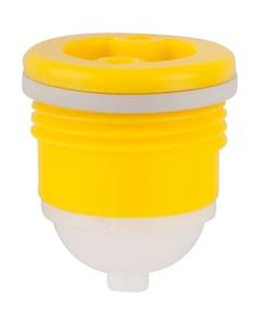"3/4"" Tri-Sure® PP Drum Plug with Vent, EPDM Gasket"