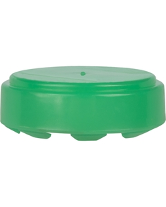 """3/4"""" SnapSeal® T-3/4 Green Plastic Capseal for Steel Drums"""