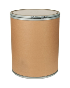 41 Gallon Fiber Drum with Steel Cover and Lever Lock Ring
