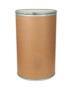 55 Gallon Fiber Drum with Steel Cover and Lever Lock Ring