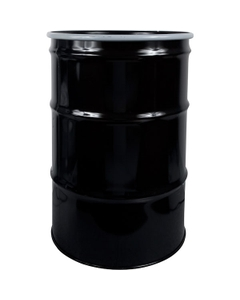 55 Gallon Steel Drum, UN Rated, Lined, Cover w/Bolt Ring Closure
