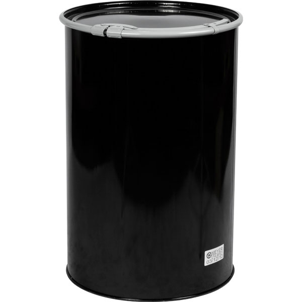 55 gallon steel drum straight sided the cary company for Metal 55 gallon drum