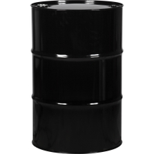 """55 Gallon Tight Head Steel Drum, UN Rated, 2"""" &  3/4"""" Fittings, Unlined"""