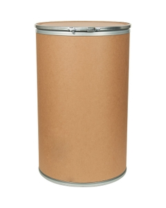55 Gallon Fiber Drum with Fiber Cover and Lever Lock Ring