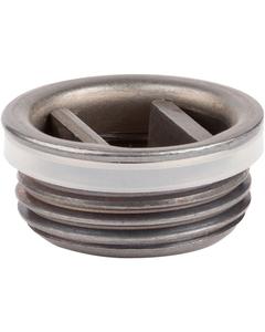 "3/4"" Unplated Steel Drum Plug, Polyirradiated Gasket"