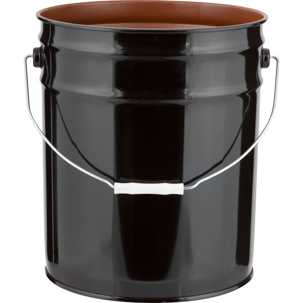 Open Head Pigmented Phenolic Lined Steel Pails