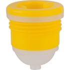 """3/4"""" Tri-Sure® PP Drum Plug with Vent, Poly Irradiated Gasket"""
