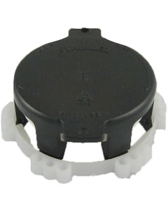 """2"""" Snap-On Camlock Dust Cap for IBC Tote Valves, EPDM Gasket"""