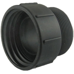 """2"""" Female Buttress to 2"""" Male NPT Pipe Thread Adapter"""