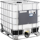 """275 Gallon IBC Tote, Rebottled, UN Rated, 2"""" Camlock Valve, Steel Pallet"""